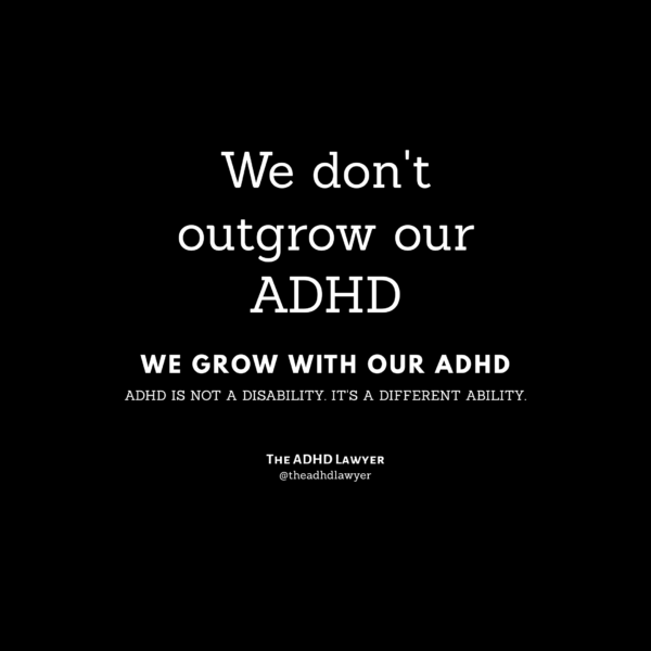 ADHD is a lifestyle